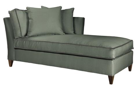 Hickory Chair - Leigh Ottoman - 1504-29