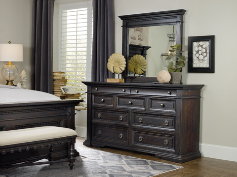 Hooker Furniture - Treviso Nine Drawer Dresser - 5374-90002