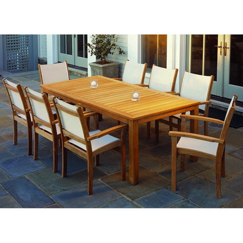 Kingsley-Bate - Wainscott Rectangular Dining Table - WS72