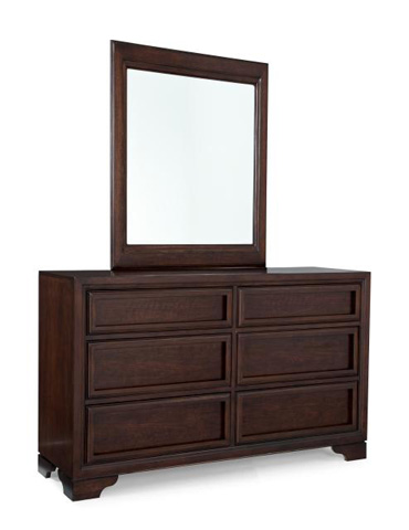 Image of Mirror with Dresser