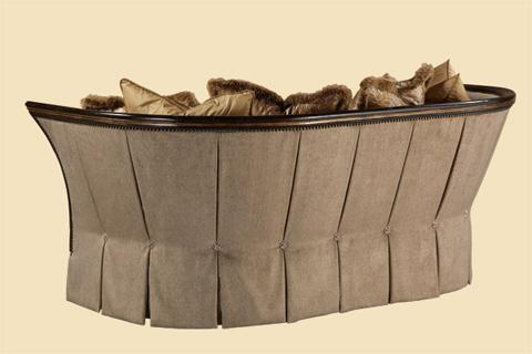 Marge Carson - Iris Curved Sofa - IRI43