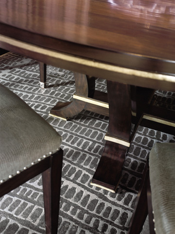 Marge Carson - Round Dining Table - DSF08-1
