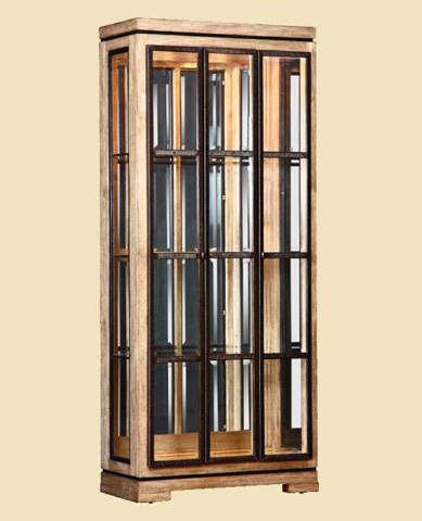 Marge Carson - Mirrored Back Display Cabinet - SNA09