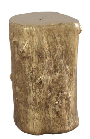 Image of Gold Log Stool