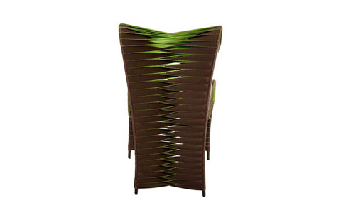 Phillips Collection - Seat Belt Outdoor Dining Chair in Brown - B2061BG