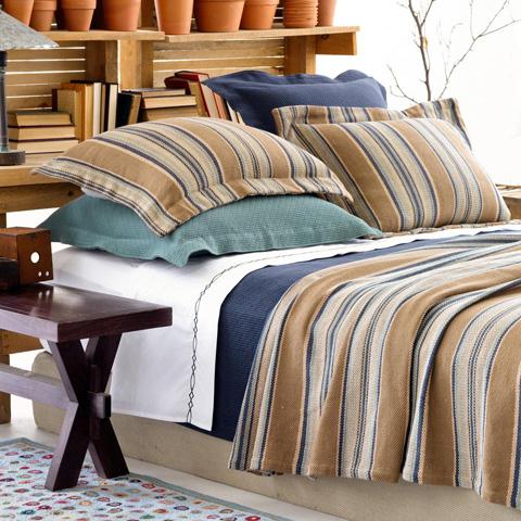 Pine Cone Hill, Inc. - Blue Heron Blanket - King - BBHK