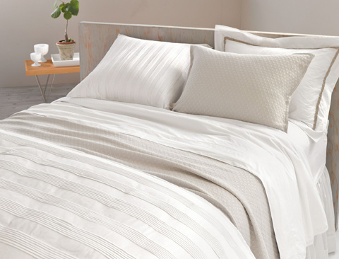 Pine Cone Hill, Inc. - Diamond Platinum Matelasse Coverlet - King - M15PLK