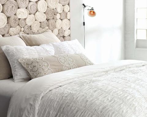Pine Cone Hill, Inc. - Petite Ruffle White Sheet Set - King - SPRWSK