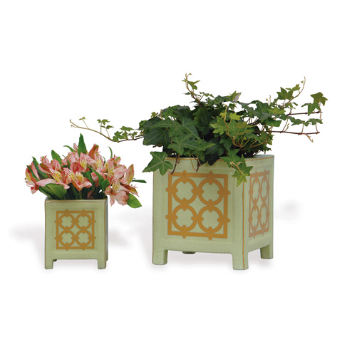 Port 68 - Viceroy Small Planter in Mint - ACBS-092-14