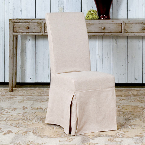 Image of Draped Side Chair