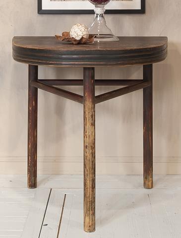 Sarreid Ltd. - Semi Circle Wall Table - 29845
