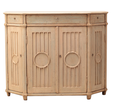 Sarreid Ltd. - Louisville Hall Cabinet - 29941
