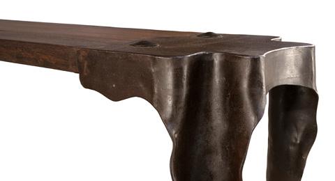 Sarreid Ltd. - Sculptured Console Table - 30038
