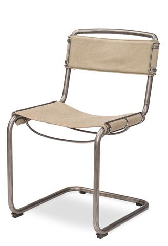 Sarreid Ltd. - Canvas Field Chair - 30047