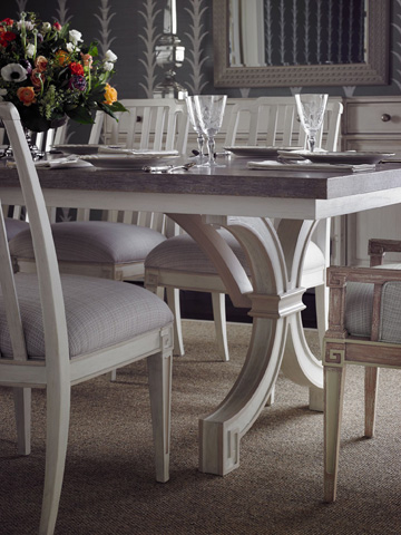 Stanley Furniture - St. Helena Trestle Table - 340-21-36