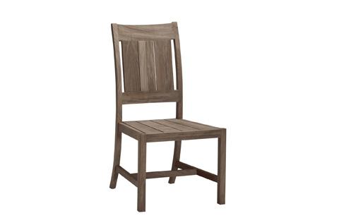 Summer Classics - Croquet/Club Teak Side Chair - 28314