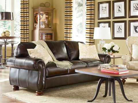 Thomasville Furniture - Benjamin Three Seat Sofa - 20901-525
