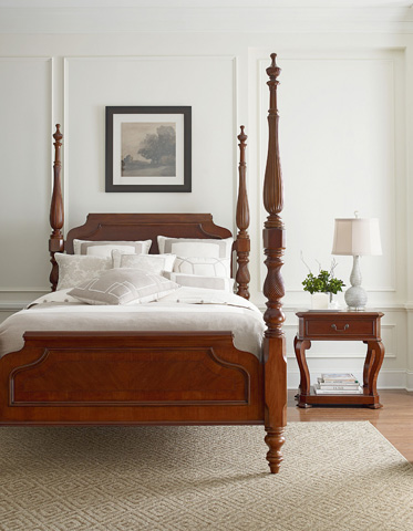 Thomasville Furniture - King Poster Bed - 46811-476