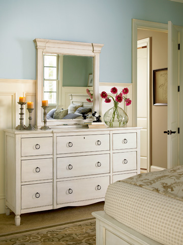 Summer Hill Nine Drawer Dresser In Cotton 987040 Universal Furniture Chests Dressers From