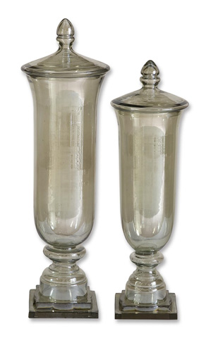 Uttermost Company - Gilli Glass Decorative Containers - 19148