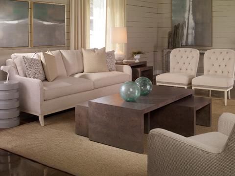 Vanguard Furniture - Bingham Upholstered Table - V126S-UT