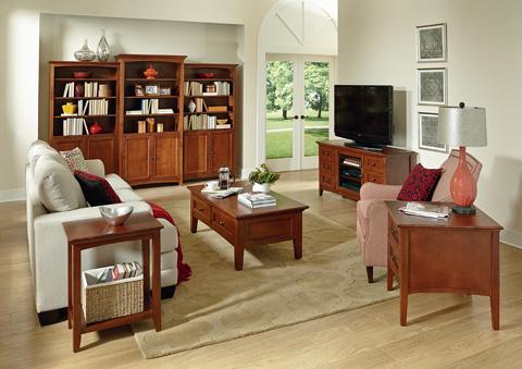 Whittier Wood Furniture - McKenzie Coffee Table - 3504GAC