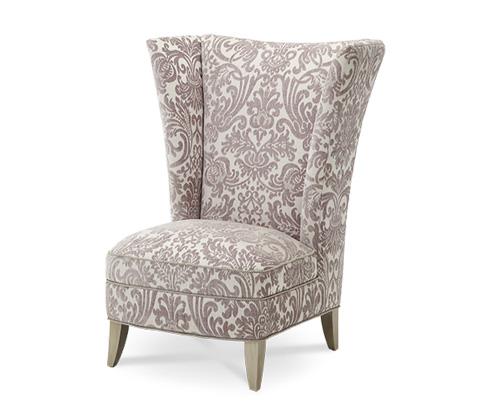 Michael Amini - High Back Chair - 08836-PLTNM-05