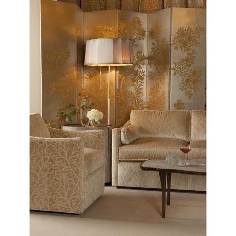 Baker Furniture - Ellipse Oval Side Table - 4069