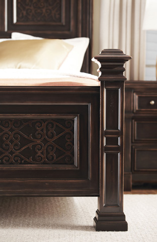 Bernhardt - Pacific Canyon Panel Bed - 349-H07/F07/R07