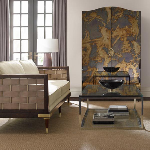 Caracole - Inter-Woven Sofa - UPH-SOFWOO-44A