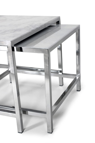 Control Brand - The Svendborg Coffee Table Set - FHT08WHT