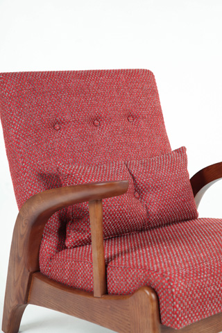 Control Brand - The Randers Arm Chair - FYC936TWRED