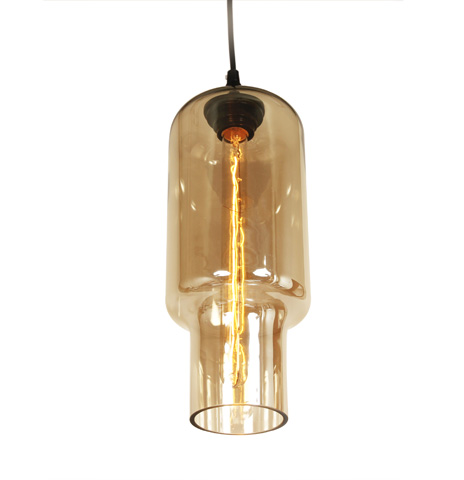 Control Brand - The Arendal Pendant in Brown Tint - LM593PBRN