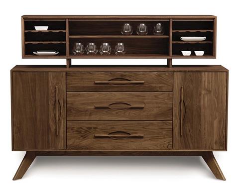 Copeland Furniture - Audrey Buffet - Cherry - 6-AUD-50