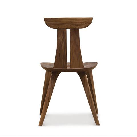 Copeland Furniture - Estelle Dining Chair - Walnut - 8-EST-50-04