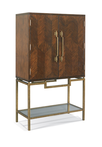 CTH-Sherrill Occasional - Bar Cabinet - 964-361