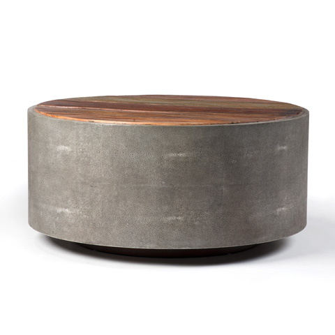 Four Hands - Crosby Round Coffee Table - VBNA-CT998