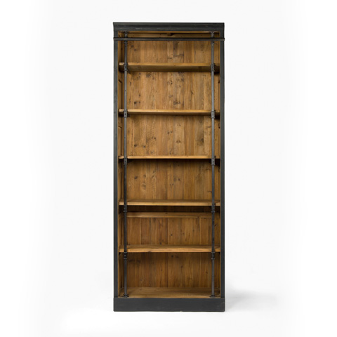 Image of Matte Black Ivy Bookcase