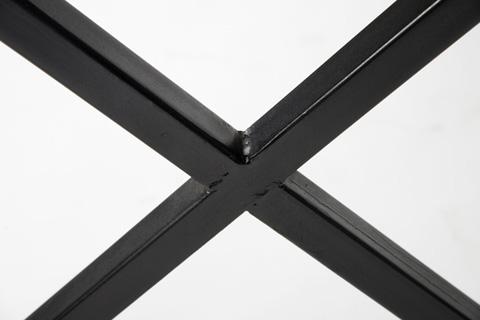 Four Hands - Antique Black Iron Desk With 3 Drawers - IRCK-DK50