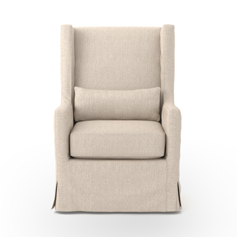 Image of Swivel Wing Chair