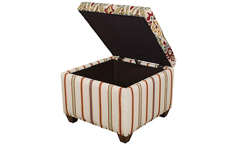 Image of Gervais Storage Ottoman
