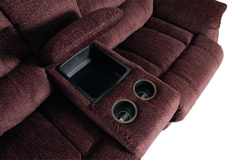 Lane Home Furnishings - Garrett Double Reclining Console Loveseat - 328-43