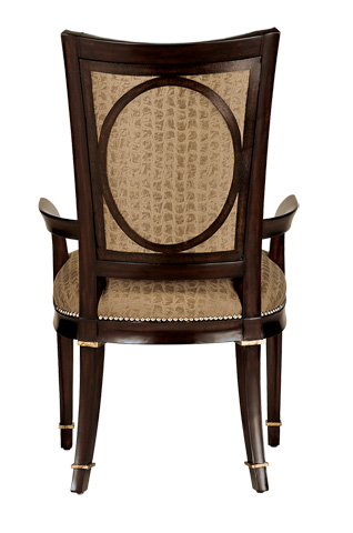 Marge Carson - Tufted Arm Chair - SBA46-1