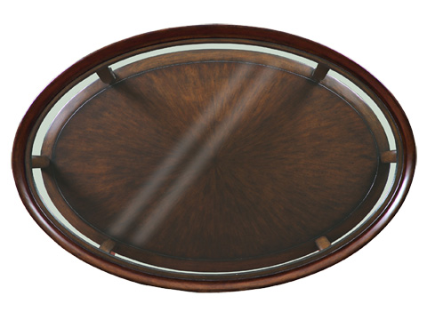 Marge Carson - Oval Cocktail Table - SNA03