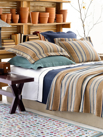Pine Cone Hill, Inc. - Interlaken Ink Matelasse Coverlet - King - M13IKK