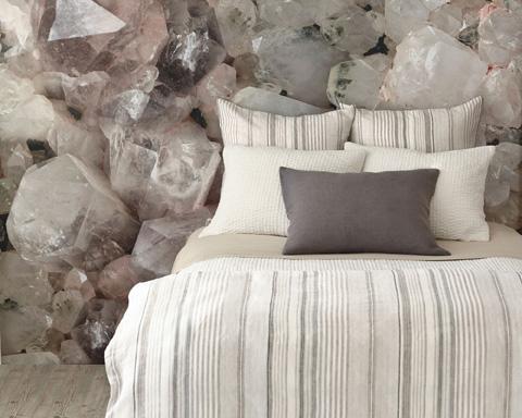 Pine Cone Hill, Inc. - Seychelles Dove White Quilt - King - Q256DWK