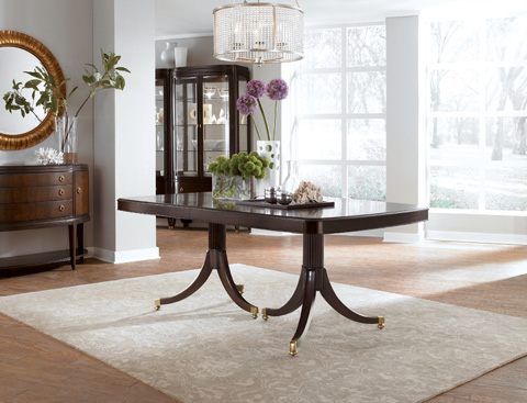 Thomasville Furniture - Double Pedestal Dining Table - 45521-772