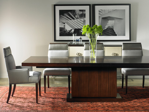 Vanguard - Dining Arm Chair - W743A
