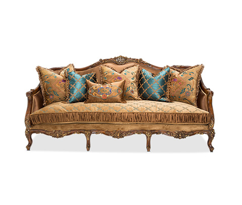 Image of Sienna Sofa in Butterscotch