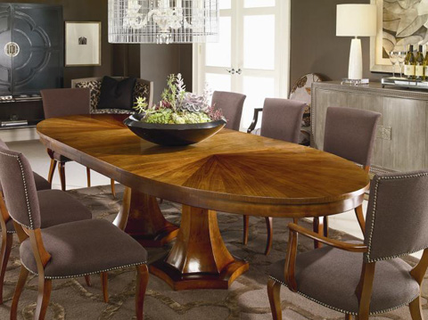 Century Furniture - Double Pedestal Dining Table - 339-303